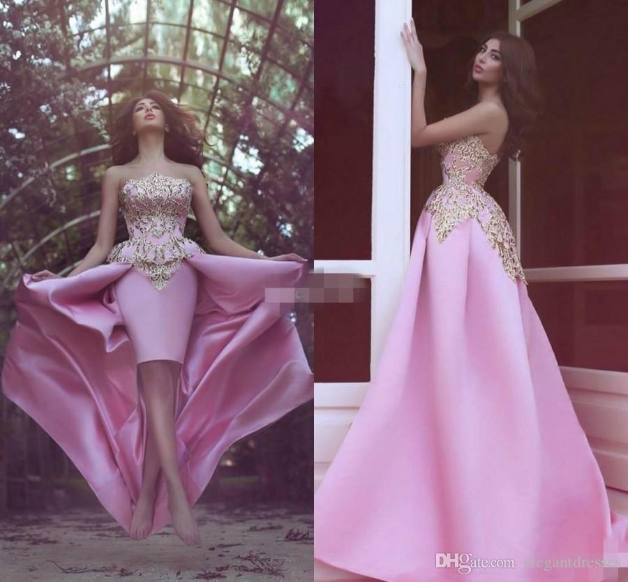 2019 Newest Formal Custom Made Evening Dresses Sexy A Line Strapless Party Prom Dresses Long With Beads