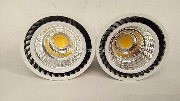 Фабрика Горячие продажи Оптовая цена Затемнения 5 Вт Теплый Холодный белый / Белый COB Светодиодный прожектор GU10 MR16 E27 Светодиодная Лампа AC85-265V / AC110V / AC220V