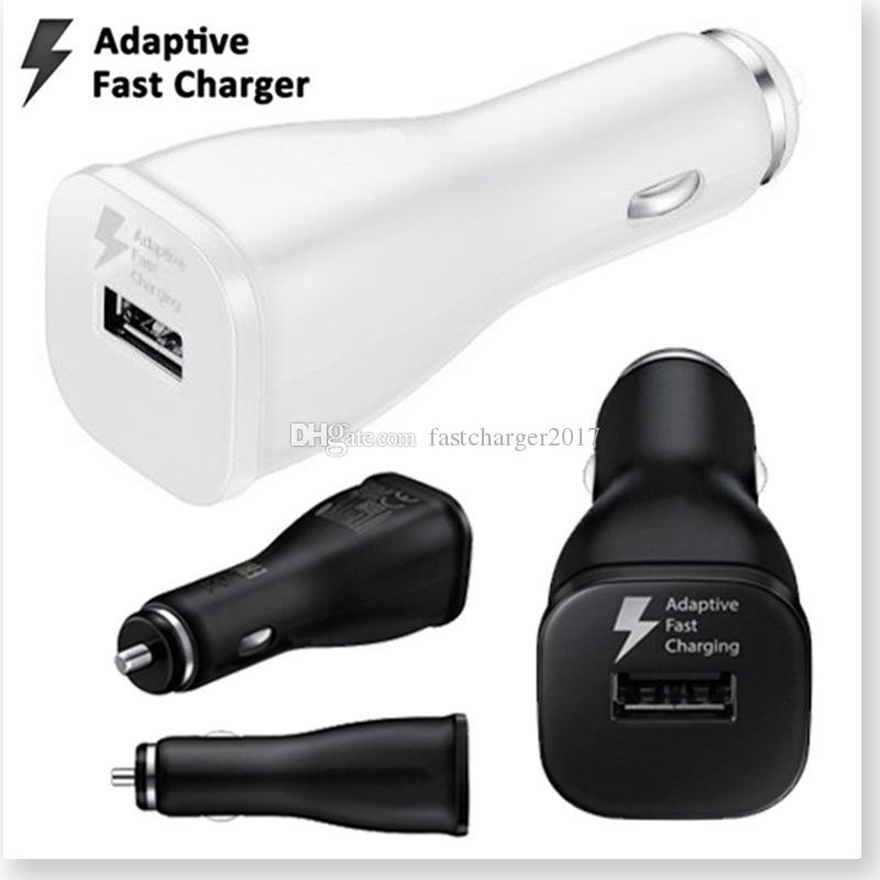 Fast Charging Car Charger Adaptive Car charger adapter For Samsung Galaxy S7 S6 S8 Note 5/4 Tablet Mp3 Pc Gps