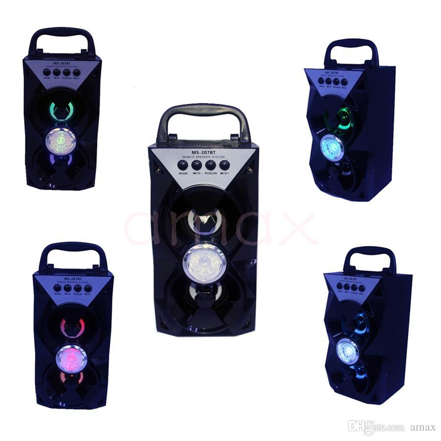 Flat Subwoofer Ms 207bt Lautsprecher Mini Led Bewegliche Bluetooth ...