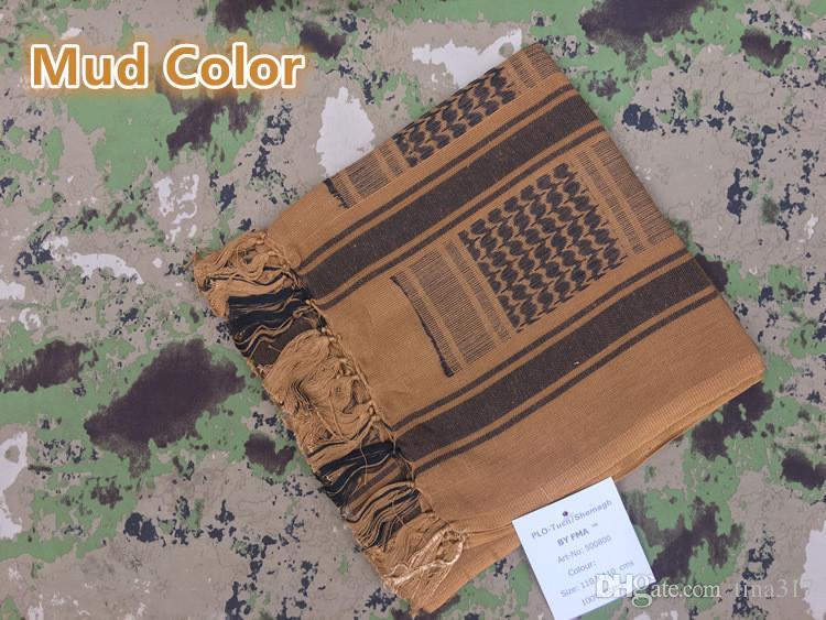 Nuove sciarpe magiche arabe esterne di Thicken Lo speciale scialle a testa di soldato in puro cotone Sciarpe 0655