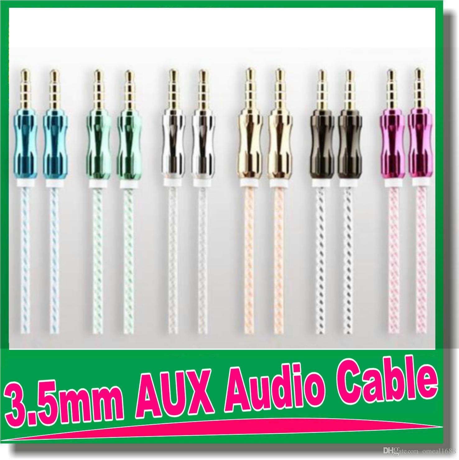Displayport Kabel 1m 3ft 3.5mm Geflochtenes Aux Kabel Cucurbit Hilfs ...