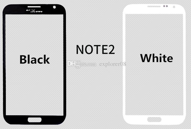 Para iphone 5 6 6 s plus frente outer lente de vidro para samsung galaxy note 1 2 3 4 s3 s4 s5 peças de reposição