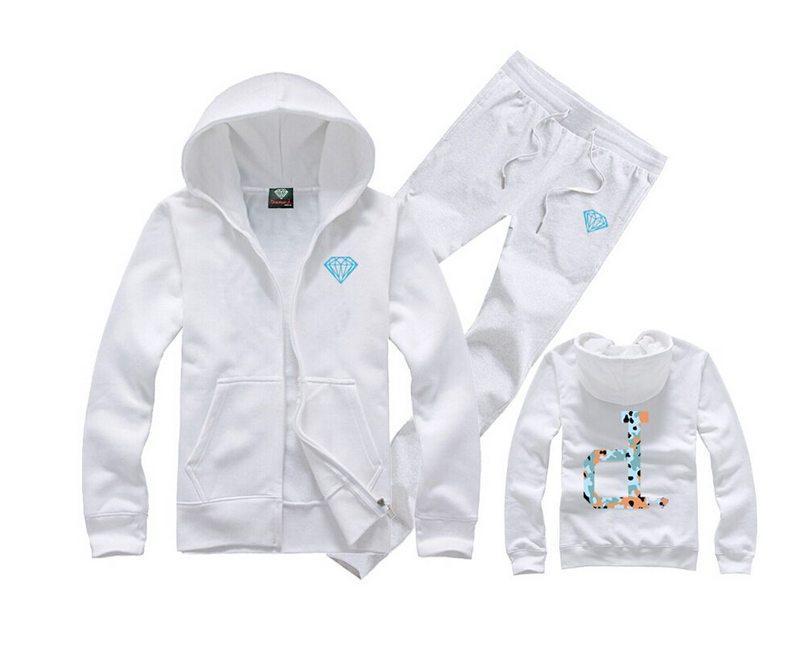 Galaxy Diamond Print Men Women Sweatshirt Cotton Casual Hoody White Hipster Plus Size S-XXXL