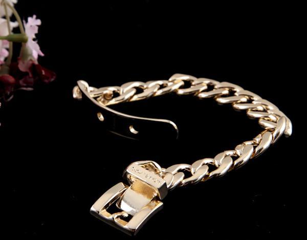 Горячие продажи хип-хоп высокого качества мужские женские золото серебро Роза ремешок для часов браслет мужчины для Валентина подарок новый бренд браслеты ювелирные изделия