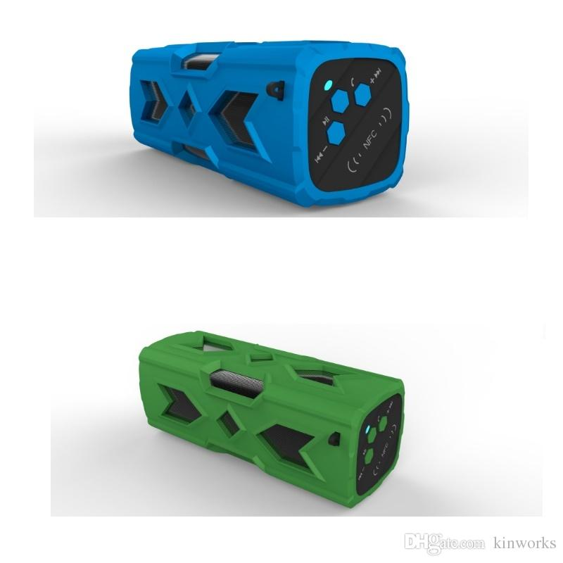 Outdoor Bluetooth Speaker with Power bank Function NFC Touch Control Waterproof 3D Surround 10hours Playing Time