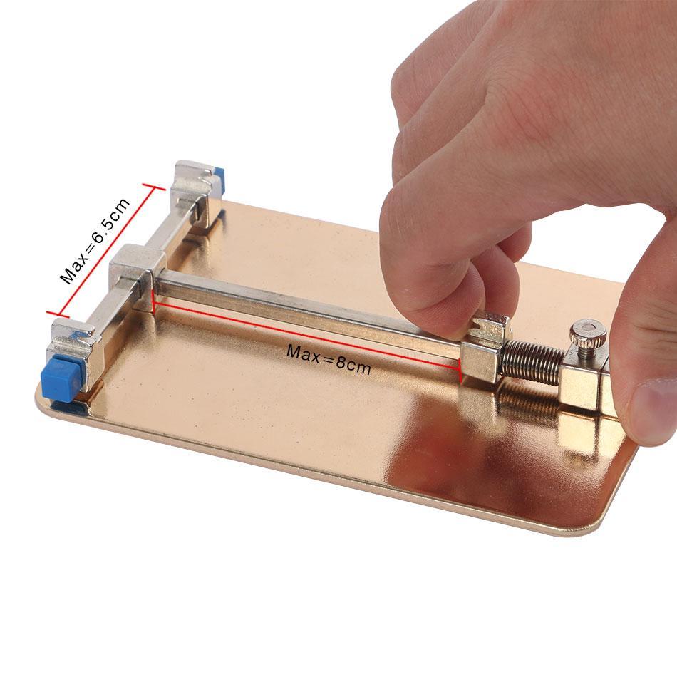 Kaisi Universal Metall PCB Board Halter Jig Fixture Work Station für iPhone Handy PDA MP3 Repair Tool