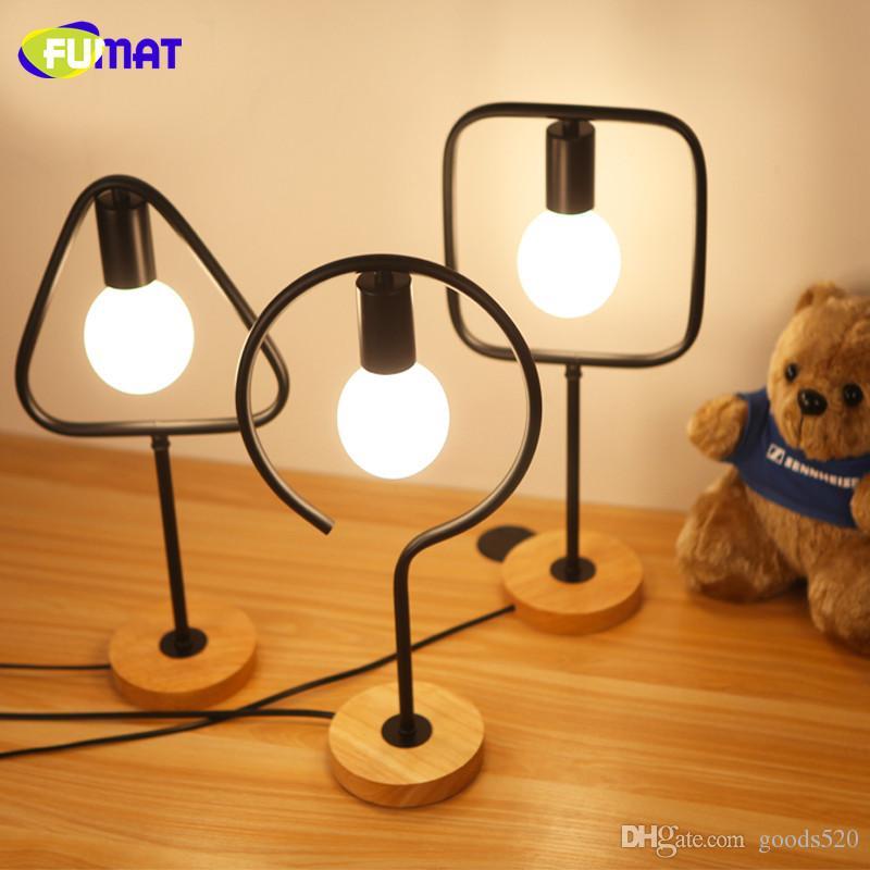 2019 FUMAT Bedroom Table Lamps Creative Office Desk Lamps Vintage ...