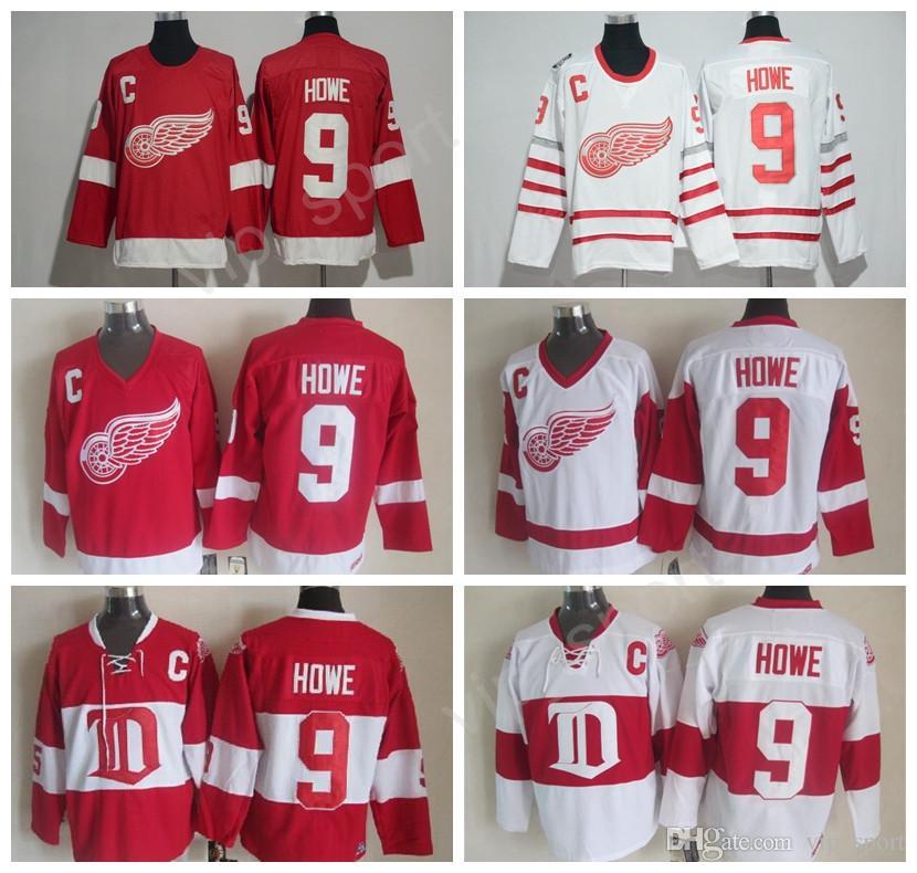 best cheap 2c6e0 4403b 9 gordie howe jersey
