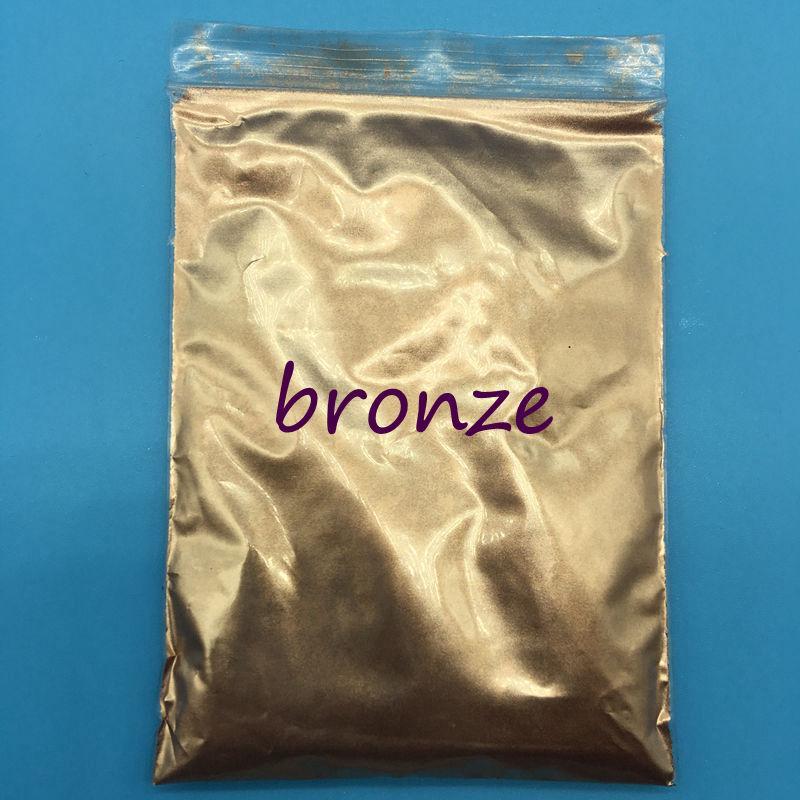 100 g / bolsa color gris plata Perla Mica en polvo Pigmento Perlado Recubrimiento Pigmento Cosmético Pigmento, esmalte de uñas DIY, maquillaje, sombra