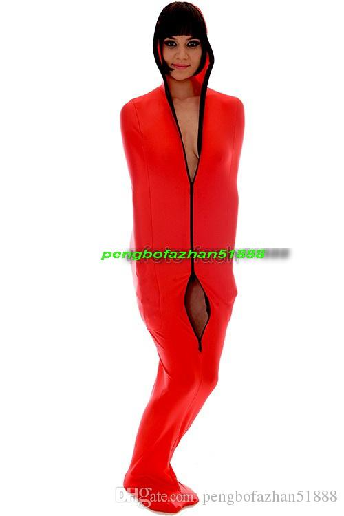 Unisex Mummy Sleeping Bags Costumes Sexy Lycra Spandex Mummy Suit Costumes With internal Arm Sleeves Unisex Mummy Suit Outfit P157