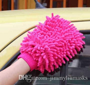 جديد كبير ميت ميتروفيبيب نافذة السيارة غسل تنظيف المنزل القماش المنفضة منشفة القفاز