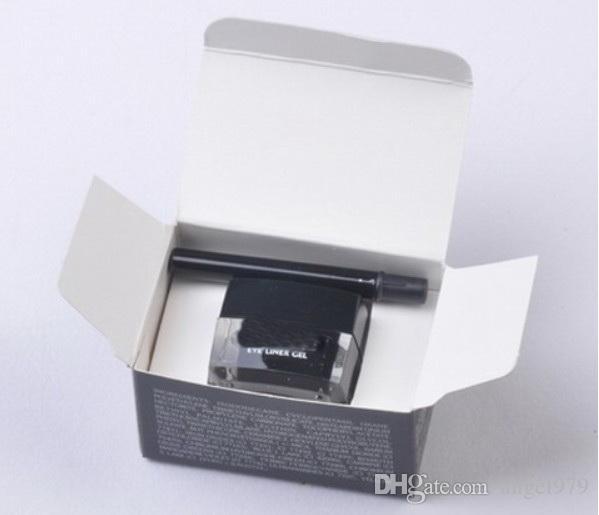Trasporto libero più nuovo trucco eyeliner nero impermeabile da 12 pezzi