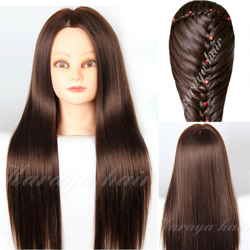 how to style your hair with a straightener aliexpress buy 90 real hair hairdressing doll heads 2239