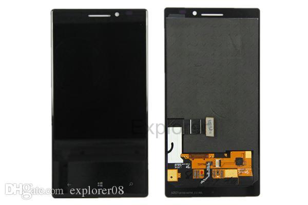 Test bestanden LCD-Anzeigen-Screen-Analog-Digital wandler mit Rahmen für Nokia Lumia 930 vs N930 LCD assembly + gehärtetes Glas + Tools