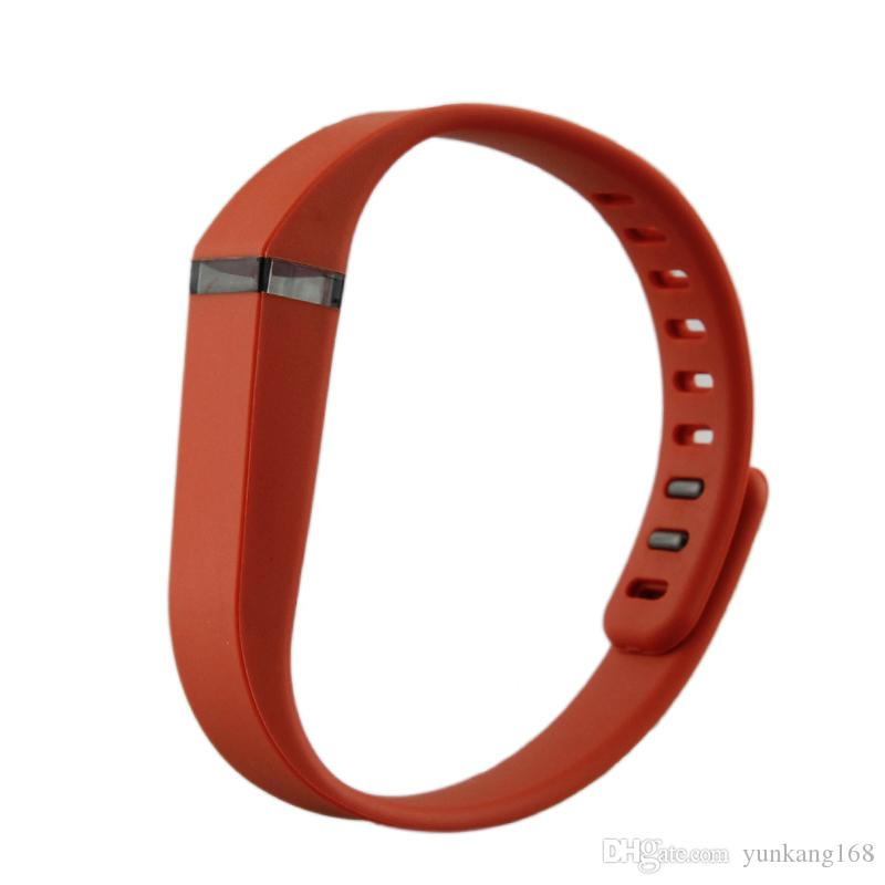 100% Brand New Replacement Rubber Band Fitbit Flex Wireless Activity Bracelet Wristband With Metal Clasp
