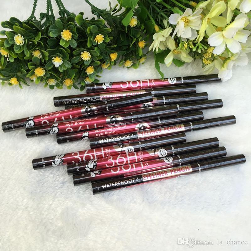 새로운 36H 방수 액체 블랙 아이 라이너 연필 스키드 방지 아이 라이너 펜 화장품 메이크업 홈 사용 품질 도매 빠른 배송