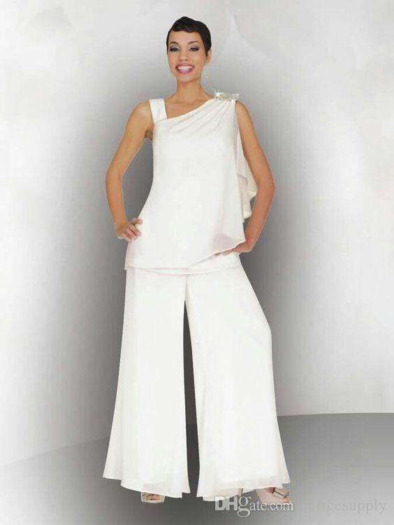 2018 Elegant Women Mother Of The Bride Groom Pant Suit ...