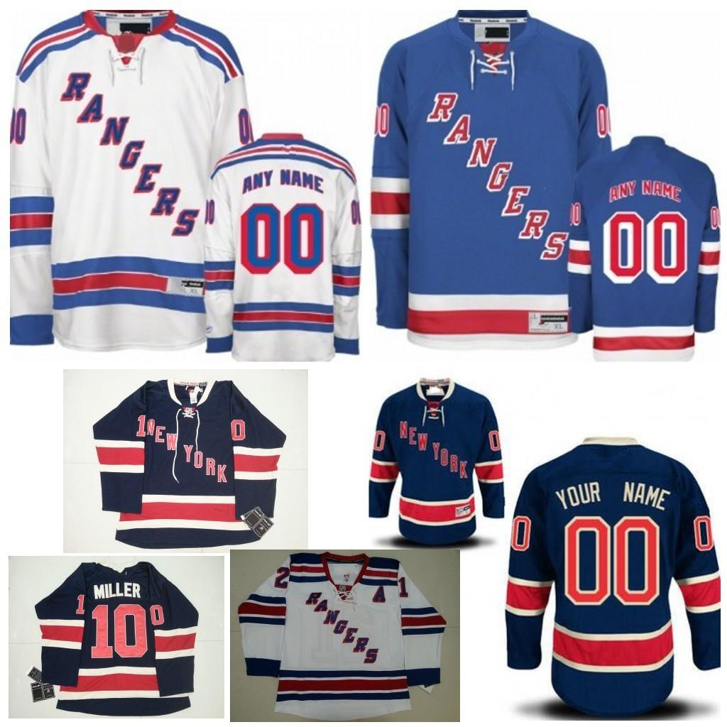 info for 5b06b 3436f new york rangers mens customized navy blue third jersey