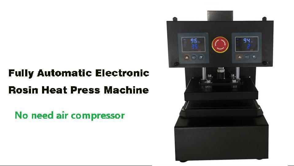 Machine à presser à colophane de type plus récent à colophane Machine à presser à chaud à colophane avec panneau LCD, sans compresseur d'air