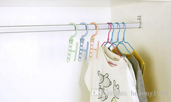 Rotatable Coat Hanger Multi Function Clothing Clothes Rack Non Slip Hangers Anti Deformation Save Space Popular 1 5fc C R