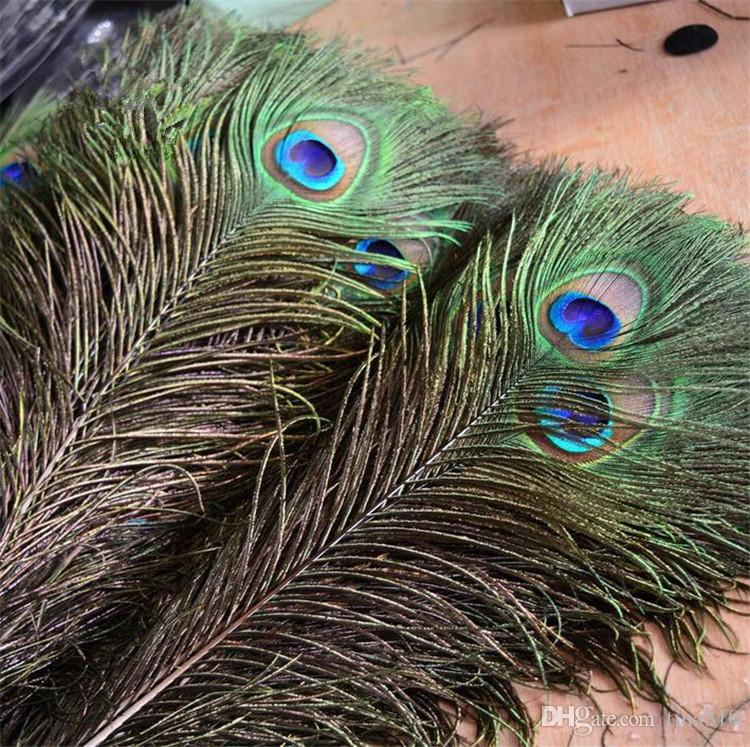Eleganti materiali decorativi decorativi Piume Belle piume da 25 a 30 cm Novità articoli spedizione gratuita 4148