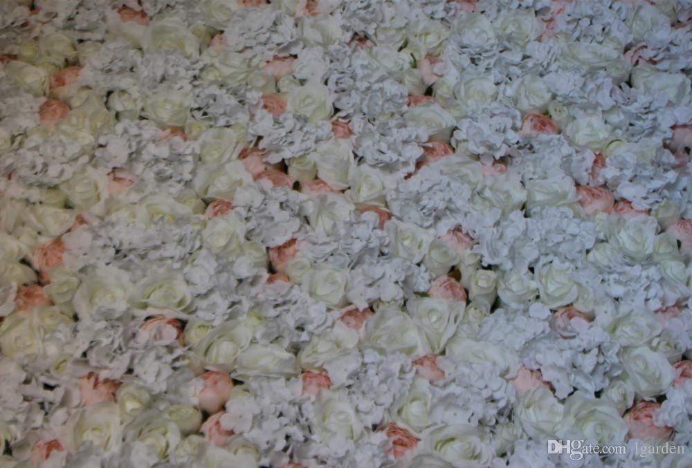 Fleurs artificielles roses en soie fleur design mariage toile de fond la fenêtre les accessoires fleurs artificielles décorent le salon
