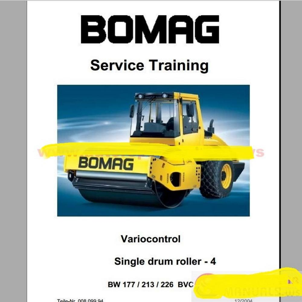 Wiring Bomag Diagram Bw211pd 3 About Ingersoll Rand Roller Full Set Service Manuals Trainning Auto Diagnostic