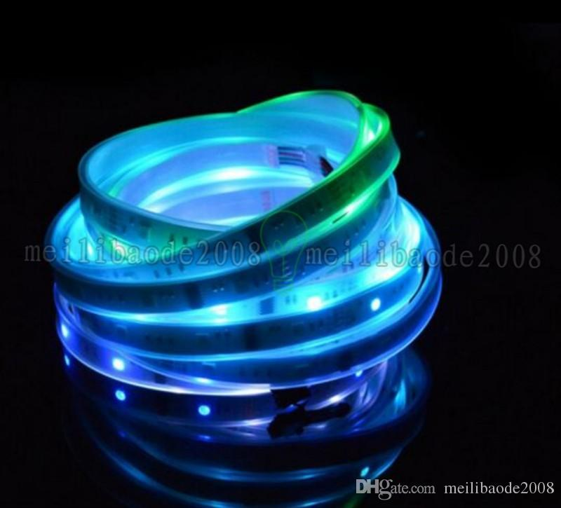 5M 5050 150LED RGB 드림 컬러 6803 IC LED 스트립 라이트 133 RF 리모컨 IP67 MYY161 변경