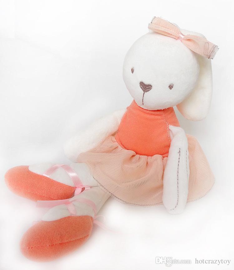 nuovo 35 * 8cm grande morbido farcito coniglio coniglietto giocattolo bambina bambino mamamiyappas coniglio bambola abbraccio bambino tranquillo bambola bambola dormire peluche