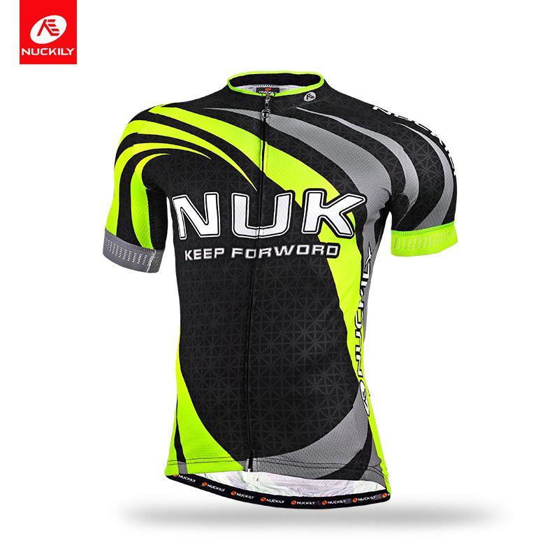 399f40078 NUCKILY Men s Summer Road Bike Wear UPF 40+ Full Sublimation Fast Wicking  Cycling Short Sleeve Jersey MA014 Summer Road Bike Wear Fast Wicking Cycling  Short ...
