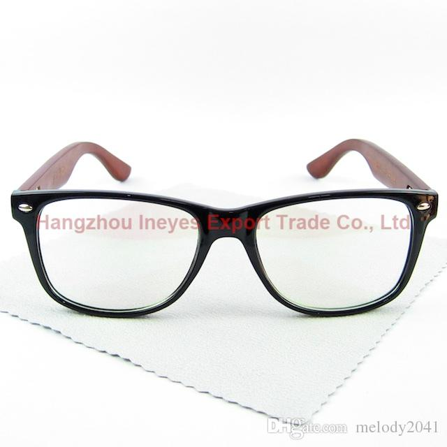 59a7841a282 Classic Style Wood Vintage Glasses Frame Geek Eyewear PC Frame Wooden Legs  Hand Made Canada 2019 From Melody2041