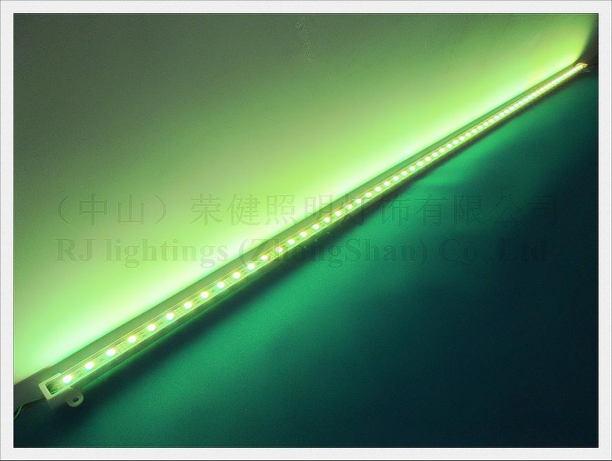 SMD 5050 RGB LED Tira Rigida 5050 RGB LED Bar Luz Counter Counter Luminária 60 LED 100cm DC12V FedEx Frete Grátis