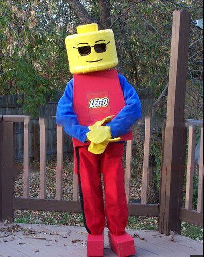 Lego Man And Lady Minifigs Lego Man Costume Duct Tape Lego Men