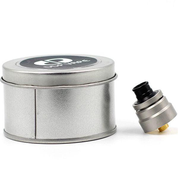 Newest DDP Vape RDA Atomizer 22MM Diameter Sandblast Color PEEK Insulator Fit 510 Electronic Cigarette Mods DHL Free