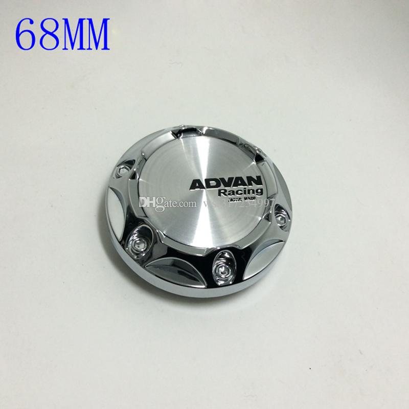 68MM Volk Rays Sticker Emblem Wheel Center Cap Hub Caps Wheel Covers Rays Volk Badge Coprimozzo Copertura Centre Enjoliveur Roue