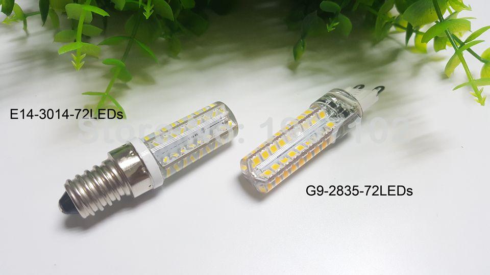 G4 led bulbs G9 Lamp lighting AC/DC12V/220V/110V LED Crystal chandeliers lights SMD3014 silicone led g4 spot lamp decoration lig