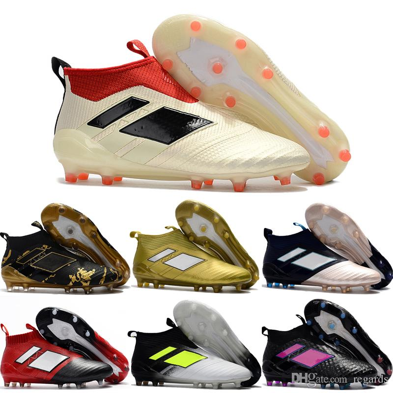 2018 2018 Cheap Online Ace 17+ Purecontrol Best Quality Soccer Boots More  Color Football Shoes Men Soccer Shoes Football Boots Sport Shoes From  Regards, ...