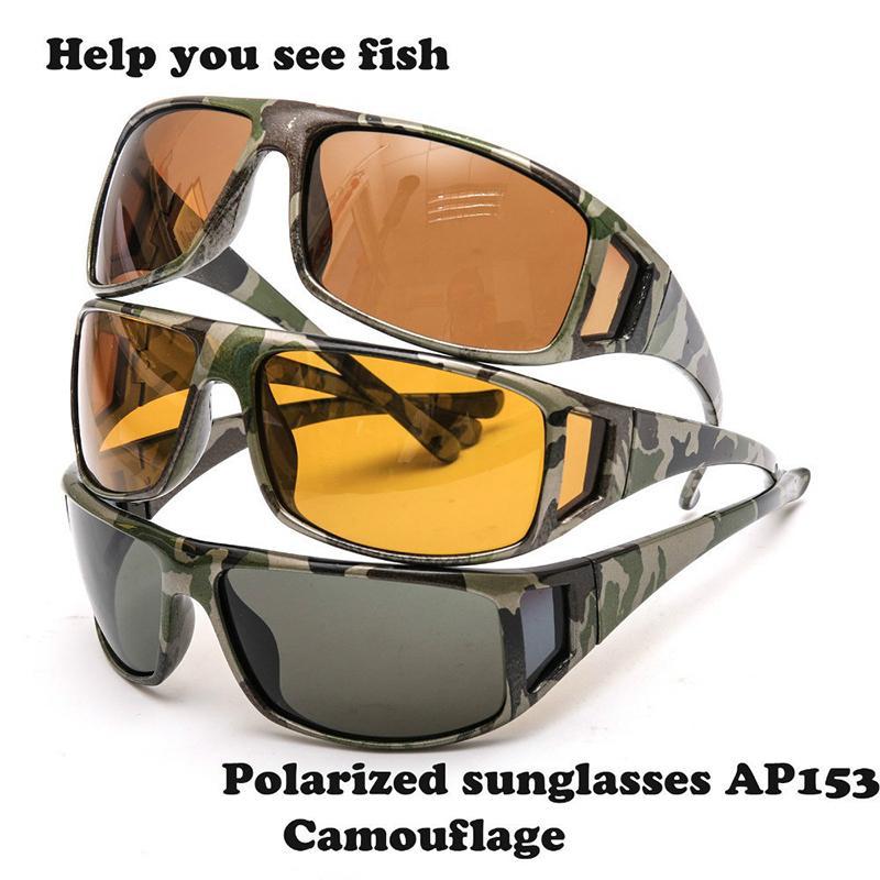 f1219bf77446 2019 Maximumcatch Camouflage Frame Fly Fishing Polarized Sunglasses Lens  Frame Fishing Uv 400Sunglasses Multi Color Eyewear .