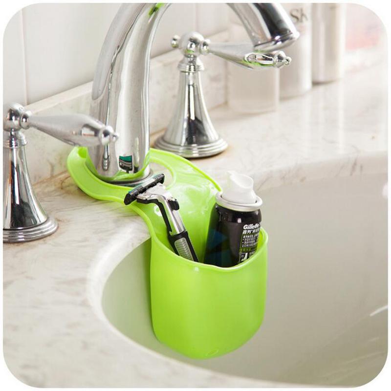 Kitchen Sink Sponge Holder online cheap new kitchen sink shelf rack faucet basket storage