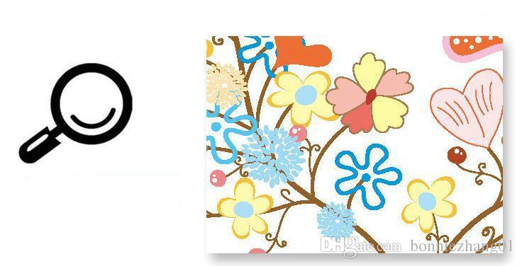 DIY Dziewczyna i chłopiec salon PVC Wodoodporna Naklejka ścienna Kwiat Dziewczyna i Jeleń Home Korpialnia Szpital Kid Centre Decoration