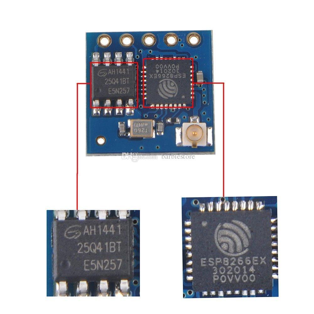 ESP8266 Esp-05 Remote Serial Port Wireless WIFI Transceiver Module AP+STA B00305