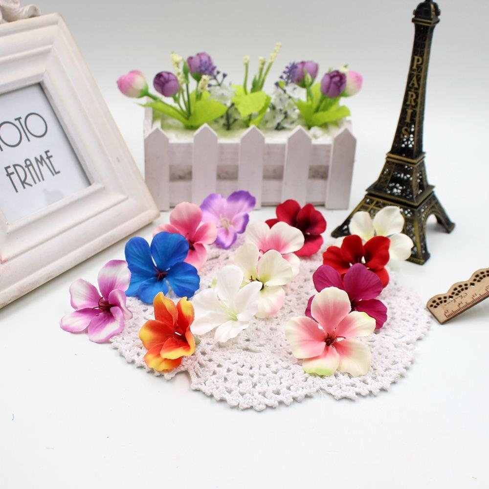 Best Spring Silk Gradient Orchid Artificial Flower For Wedding Home