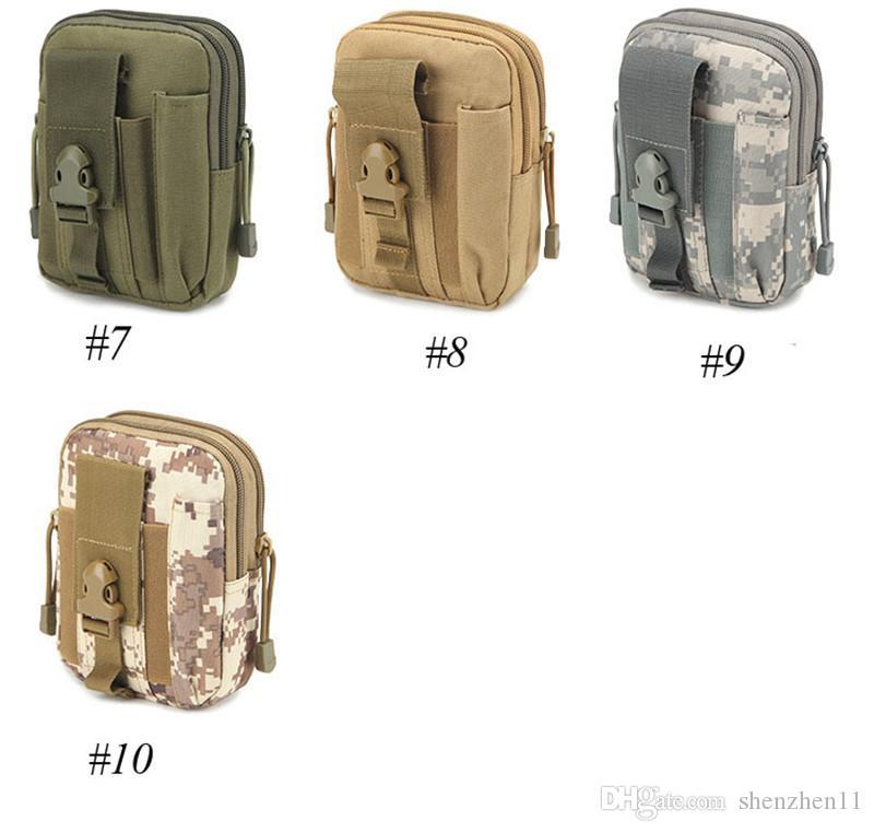 Cinturón de cintura universal Bum Bag Sport Running Funda para teléfono móvil Funda Molle Pack Monedero Bolsa monedero, pluma iphone teléfono celular portátil herramienta SCA174