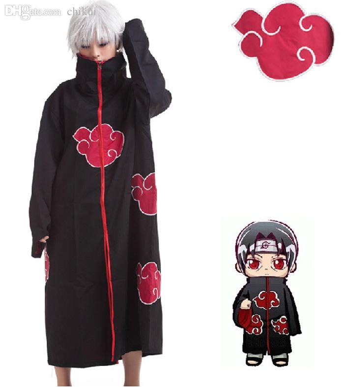 Compre Al Por Mayor Naruto Akatsuki Capa Cosplay Disfraz Orochimaru Itachi  Uchiha Madara Sasuke Pein Robe Disfraces XS XXL A  28.07 Del Chikui  83e8dce92c0