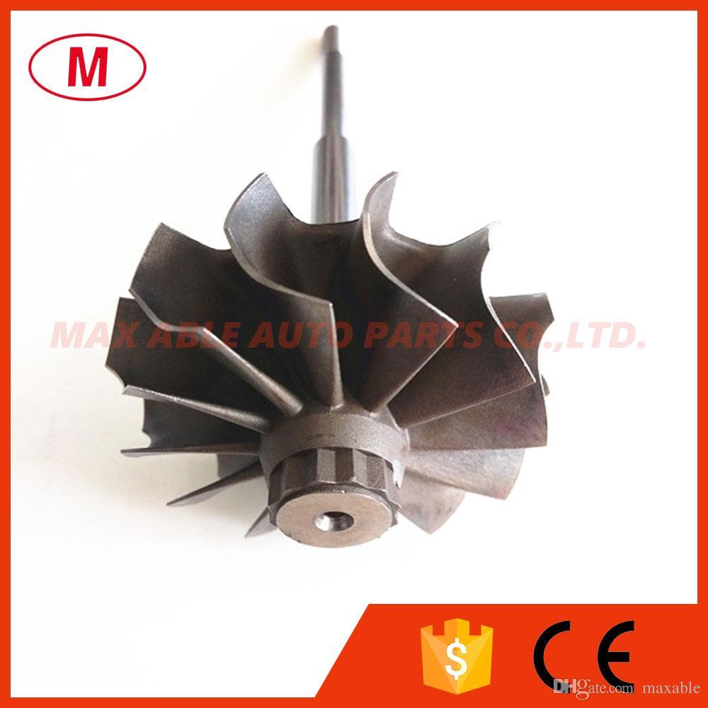 TD04HL 45.65X52mm 12 cuchillas turbo rueda / turbina eje rueda