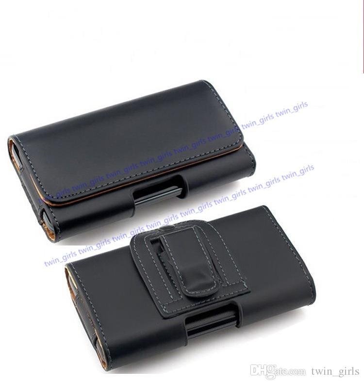 Evrensel Cüzdan PU Deri Yatay Kılıf Kapak Kılıfı Ile Kemer Klip Apple Iphone 6/7/8 Artı iphone X Samsung S8 S7 Not 5