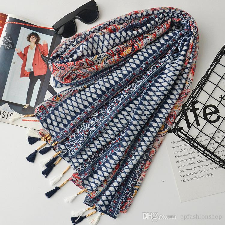 2017 новый высококачественный оригинальный шарф хлопок с одной кисточкой, японский шаль путешествия солнце, декоративные шарфы пляжное полотенце