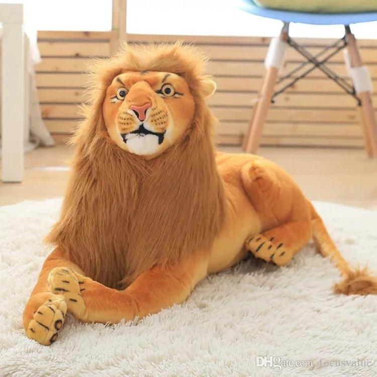 2019 Stuffed Plush Toy Simulation Big Lion Doll Cartoon Simba The