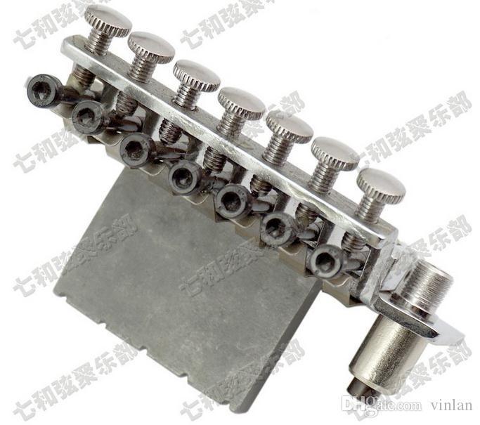 7 cordes Tremolo Bridge Cordes de guitare tirées Double Locking Bridge électrique